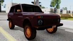 VAZ 2121 Niva SA Style para GTA San Andreas