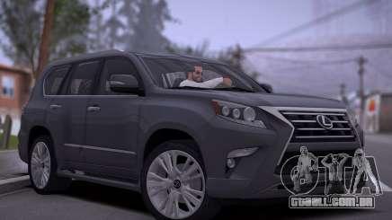 Lexus GX460 2014 para GTA San Andreas