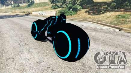 Tron Bike blue para GTA 5