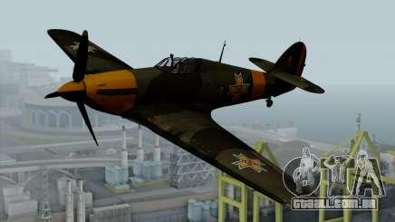 Hawker Hurricane Mk1 - Romania Nr. 1 para GTA San Andreas