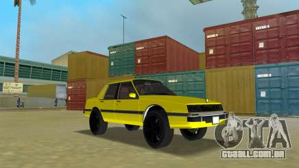 GTA IV Willard Submarino Amarelo para GTA Vice City