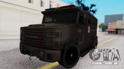 GTA 5 Enforcer Raccoon City Police Type 1 para GTA San Andreas