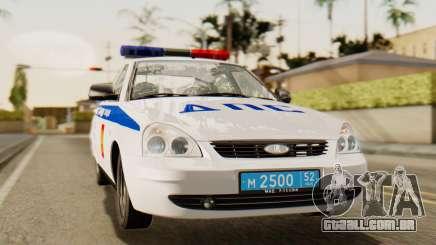Lada 2170 Priora polícia de trânsito de Nizhniy Novgorod região para GTA San Andreas