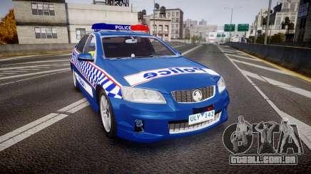Holden VE Commodore SS Highway Patrol [ELS] v2.0 para GTA 4