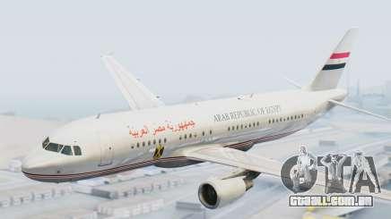 Airbus A320-200 Egyptian Air Force One para GTA San Andreas