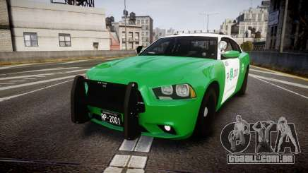 Dodge Charger Carabineros de Chile [ELS] v2.0 para GTA 4