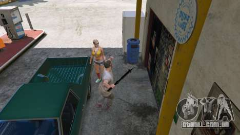 A estrela da manhã da Última Remanescente para GTA 5