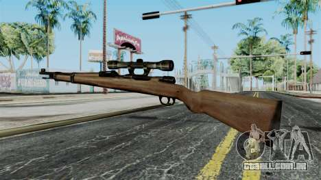 Kar98k Scope from Battlefield 1942 para GTA San Andreas segunda tela