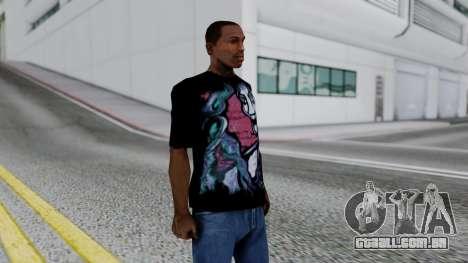 Shirt from Jeff Hardy v2 para GTA San Andreas terceira tela