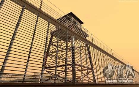 Nova Base Militar v1.0 para GTA San Andreas por diante tela