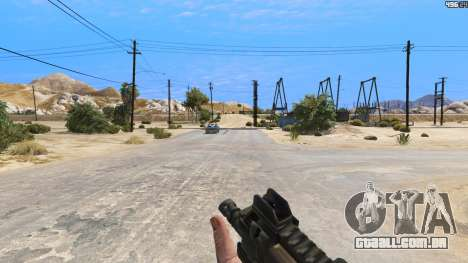 GTA 5 P-90 из Battlefield 4 terceiro screenshot