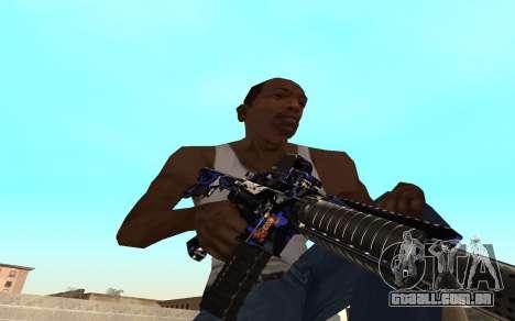 M4 c filhote para GTA San Andreas segunda tela