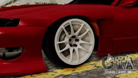 Nissan Silvia Odyvia para GTA San Andreas traseira esquerda vista