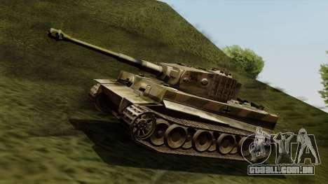 Panzerkampfwagen VI Ausf. E Tiger para GTA San Andreas