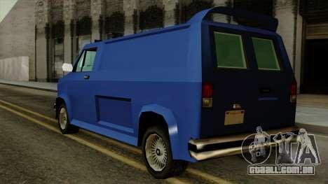 Burrito from Vice City Stories para GTA San Andreas esquerda vista