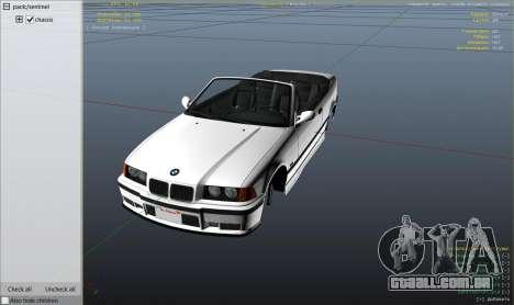 Roda GTA 5 BMW M3 E36 Cabriolet 1997