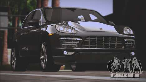 Porsche Cayenne Turbo 2012 para as rodas de GTA San Andreas
