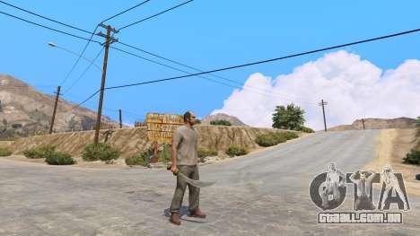 Cimitarra de Skyrim para GTA 5