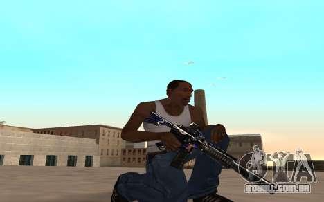 M4 c filhote para GTA San Andreas