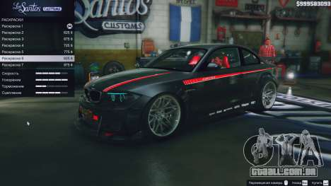 BMW 1M v1.0 para GTA 5