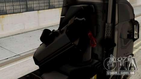 Volvo FH Euro 6 10x4 Exclusive High Cab para GTA San Andreas vista traseira