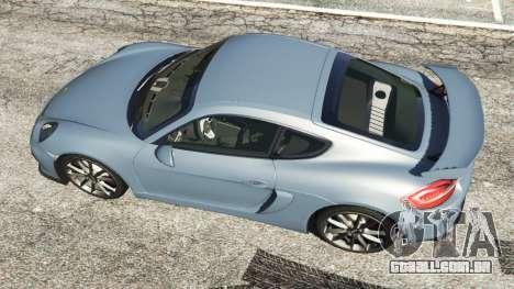 GTA 5 Porsche Cayman 2016 voltar vista