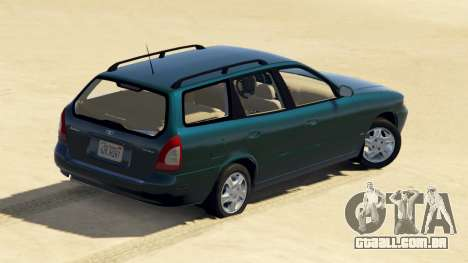 GTA 5 Daewoo Nubira eu Vagão-NOS DE 1999 - versão FINA voltar vista