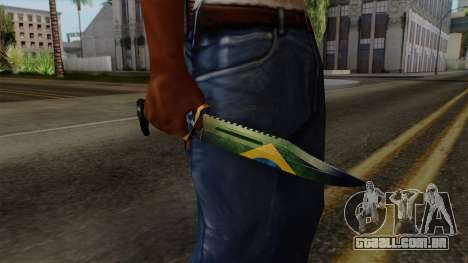 Brasileiro Knife v2 para GTA San Andreas terceira tela