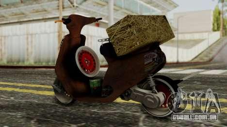 Zip SP Rat Style para GTA San Andreas esquerda vista