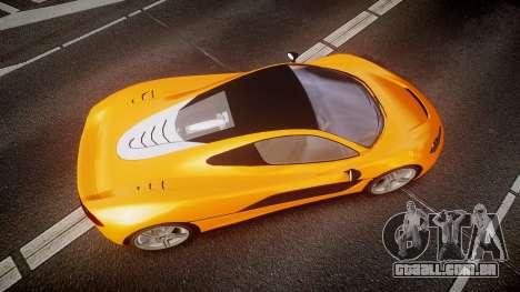 GTA V Progen T20 para GTA 4 vista direita