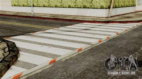 BlackRoads v1 LS Kenblock para GTA San Andreas quinto tela