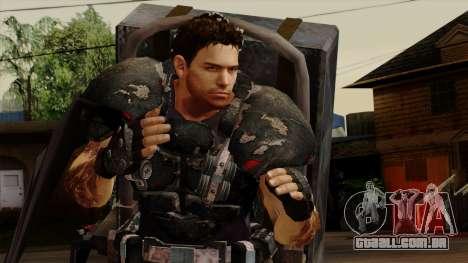 Chris Heavy Metal para GTA San Andreas