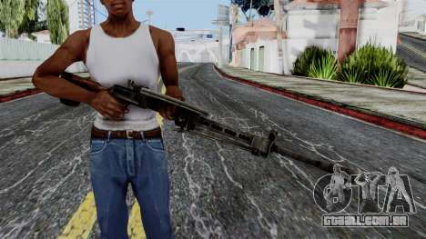 DP LMG from Battlefield 1942 para GTA San Andreas terceira tela