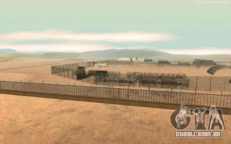 Nova Base Militar v1.0 para GTA San Andreas segunda tela