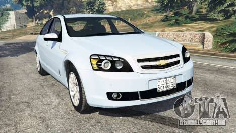 Chevrolet Caprice LS 2014 para GTA 5