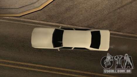 Mercedes Benz W140 S600 para GTA San Andreas vista direita