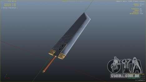 GTA 5 Buster Sword quarto screenshot