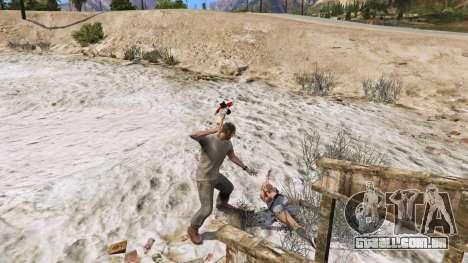 Machado de Dead Rising para GTA 5