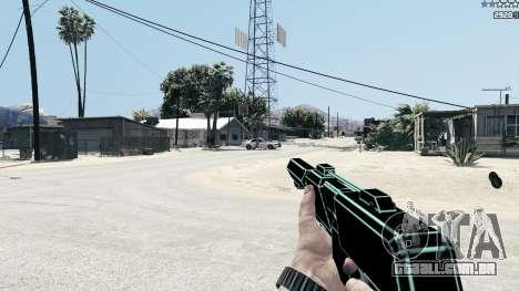GTA 5 Saints Row 3 Cyber SMG Emissive v1.01 sexta imagem de tela