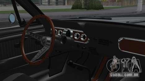 Ford Mustang Fastback 289 1966 para GTA San Andreas vista direita