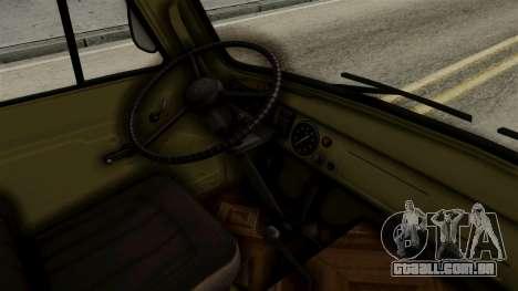 UAZ 3303 girino para GTA San Andreas vista direita