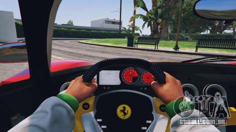 GTA 5 Ferrari Enzo v0.5 voltar vista