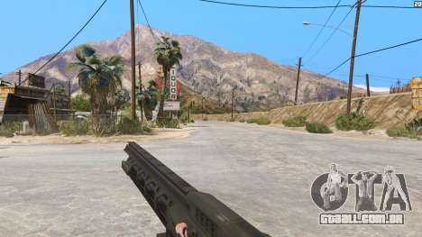 GTA 5 O railgun a partir de Battlefield 4 terceiro screenshot