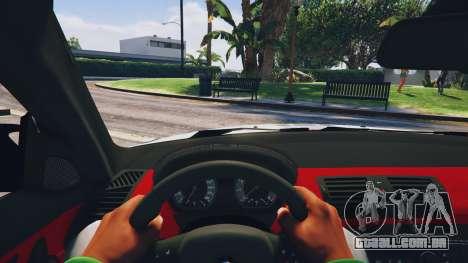 GTA 5 BMW 1M v1.0 traseira direita vista lateral