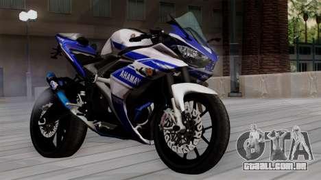 Yamaha YZF R-25 GP Edition 2014 para GTA San Andreas