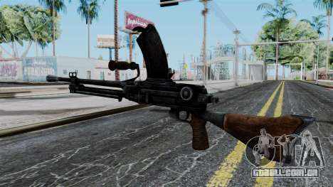 Japan Type 99 LMG from Battlefield 1942 para GTA San Andreas segunda tela