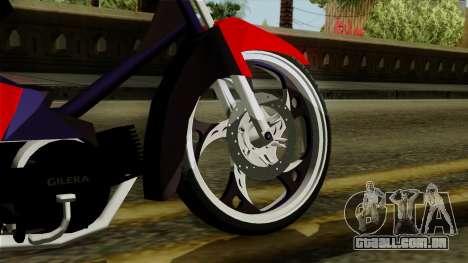 Gilera Smash para GTA San Andreas traseira esquerda vista
