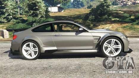 BMW M4 F82 WideBody para GTA 5