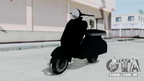 Scooter from Bully para GTA San Andreas