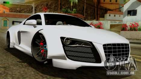 Audi R8 v1.0 Edition Liberty Walk para GTA San Andreas